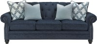 LaVernia Navy Sofa from Ashley | Coleman Furniture