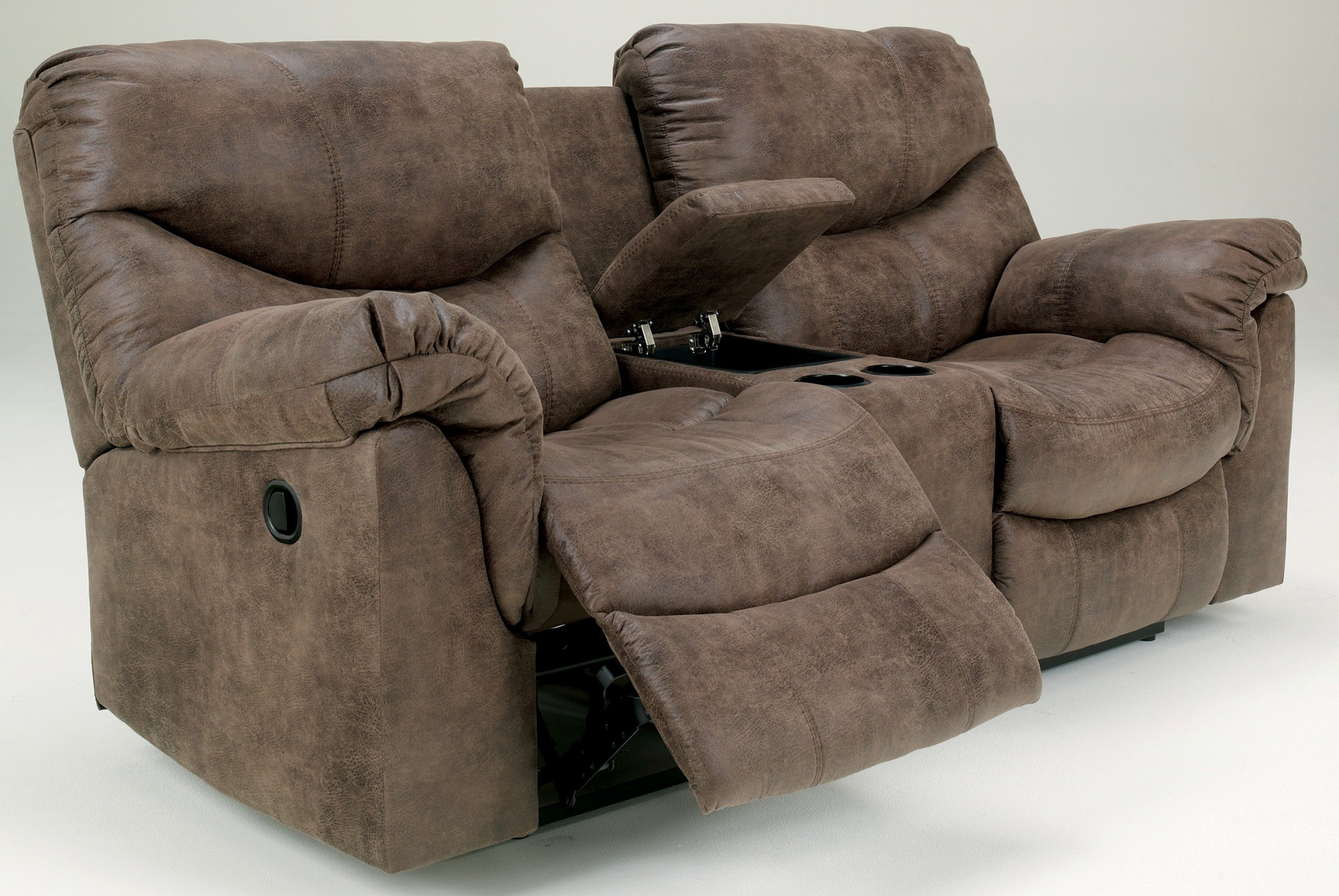 Sofa Set Sale In Jamshedpur Alzena Double Power Reclining Loveseat With Console From