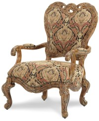 Palais Royale Fabric Wood Chair from Aico (71834-RDBLK-35 ...