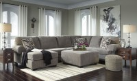 Jinllingsly Gray LAF Sectional from Ashley | Coleman Furniture