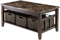 Zoey Faux Marble Top Coffee Table from WinsomeWood ...