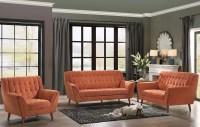 Erath Orange Living Room Set from Homelegance | Coleman ...
