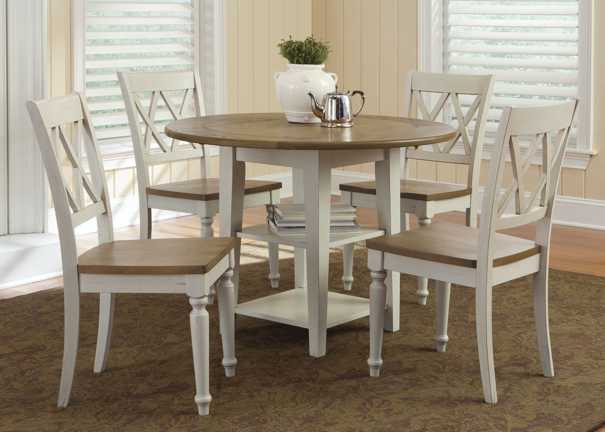 Al Fresco Al Fresco Iii Drop Leaf Dining Room Set From Liberty 841