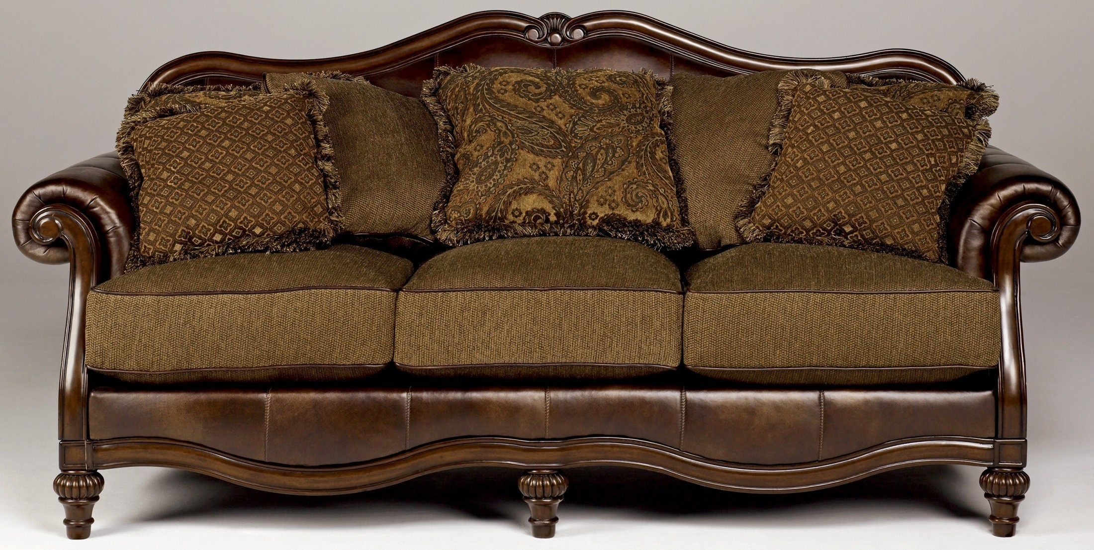Antike Sofas & Loveseats Claremore Antique Sofa From Ashley 8430338 Coleman