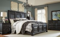 Passages Vintage Black Panel Bedroom Set from Standard ...
