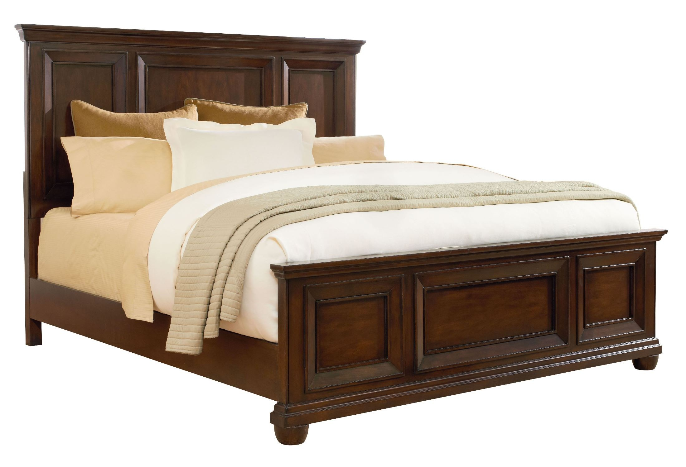 What Is A Panel Bed Vineyard Casual Tobacco Queen Panel Bed From Standard
