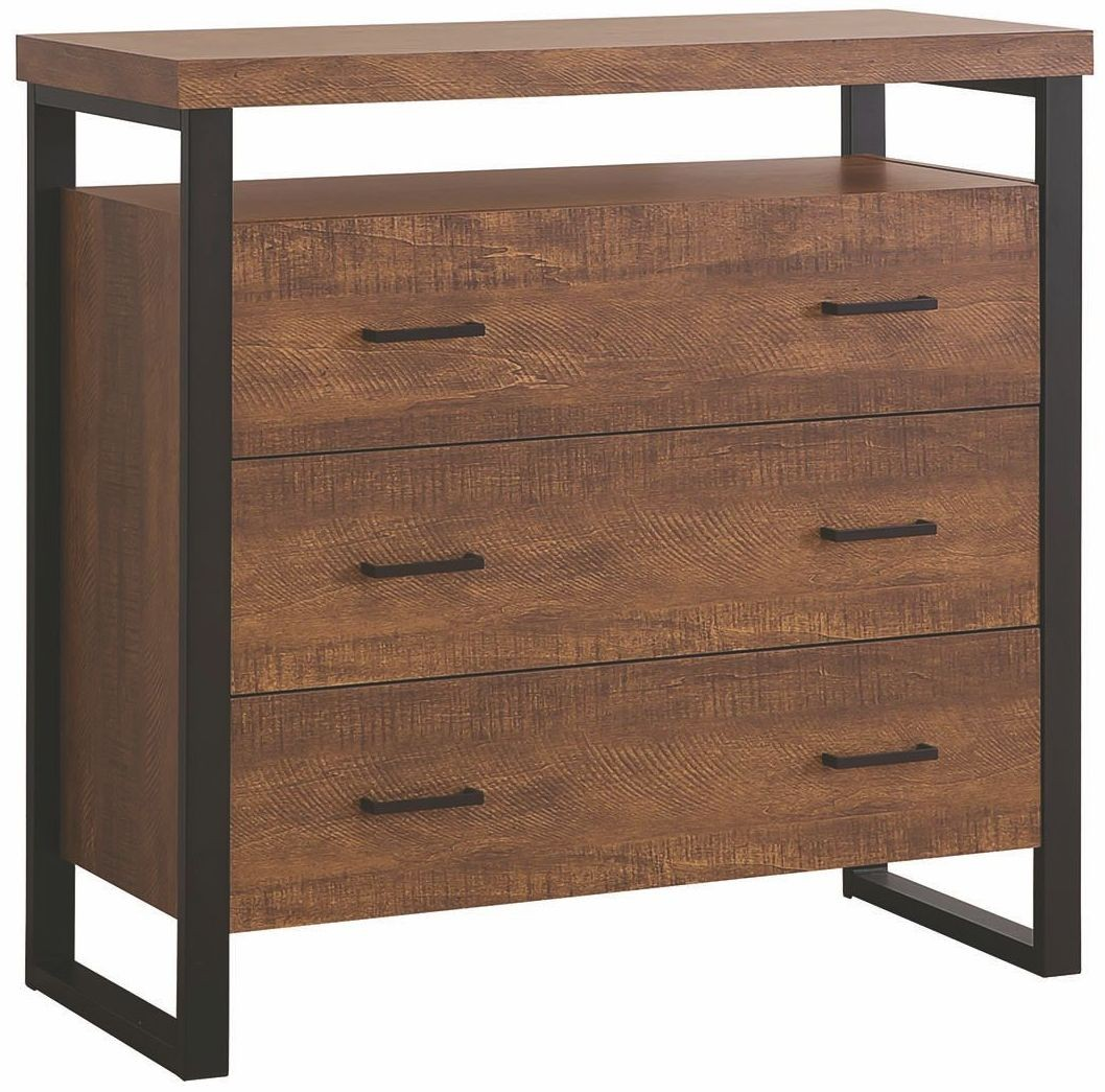 Rustic Amber Accent Cabinet from Coaster