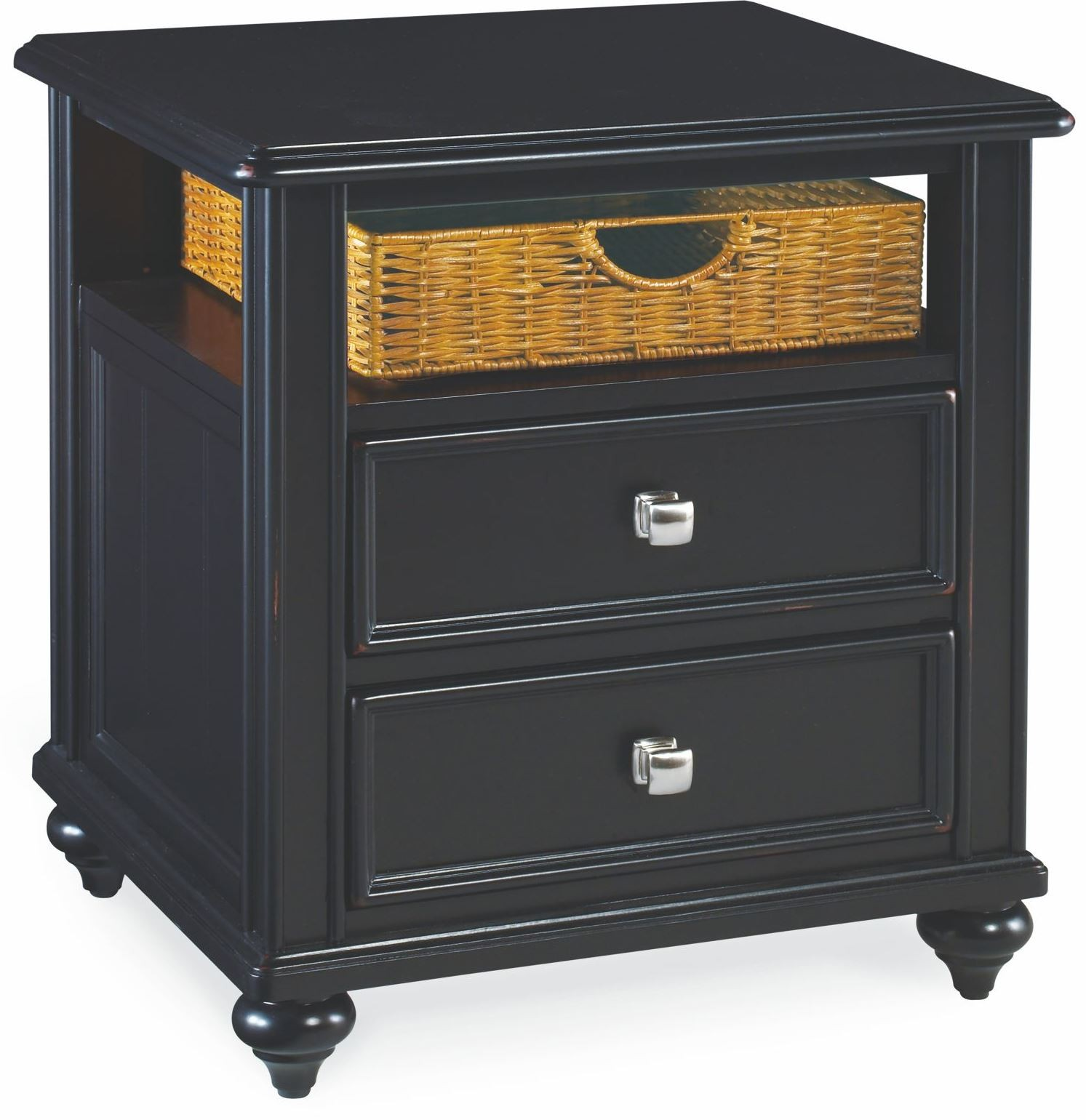 Black Side Table Camden Black Side Table From American Drew 919 915