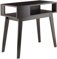 Thompson Espresso Console Table from WinsomeWood | Coleman ...