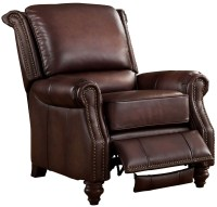 Churchill Brown Leather Recliner Chair from Amax Leather ...