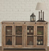 Natural Rustic Accent Cabinet, 950663, Coaster Furniture