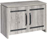 Rustic Grey Accent Cabinet from Coaster | Coleman Furniture