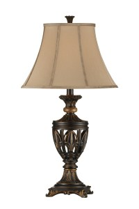 Fleur De Lis Open Work Table Lamp Set of 2 from Steinworld ...