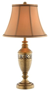 Burton Antique Gold Table Lamp from Steinworld (99888 ...