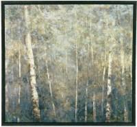 Framed Birch Trees framed Canvas Wall Art from Ashley ...