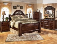 Gabriela Poster Bedroom Set from Ashley (B347) | Coleman ...