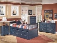 Leo Youth Trundle Storage Bedroom Set from Ashley (B103 ...
