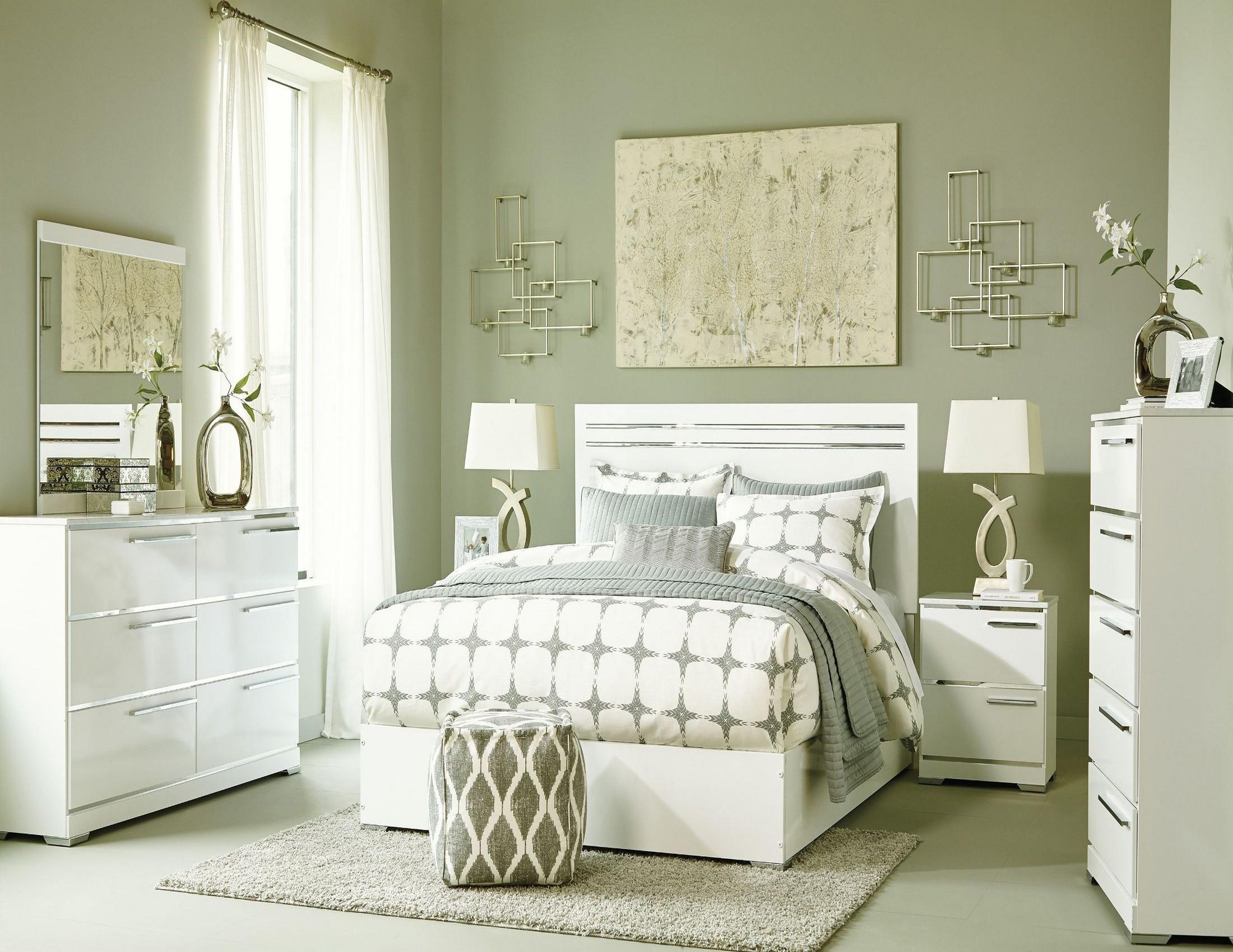 Brillaney White Panel Bedroom Set from Ashley