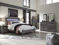 Baystorm Gray Panel Bedroom Set from Ashley | Coleman ...