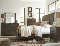 Camilone Dark Gray Upholstered Bedroom Set from Ashley ...