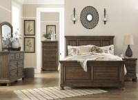 Flynnter Medium Brown Panel Bedroom Set from Ashley ...