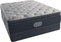 Beautyrest Recharge Silver Comfort Gray Plush Super Pillow ...