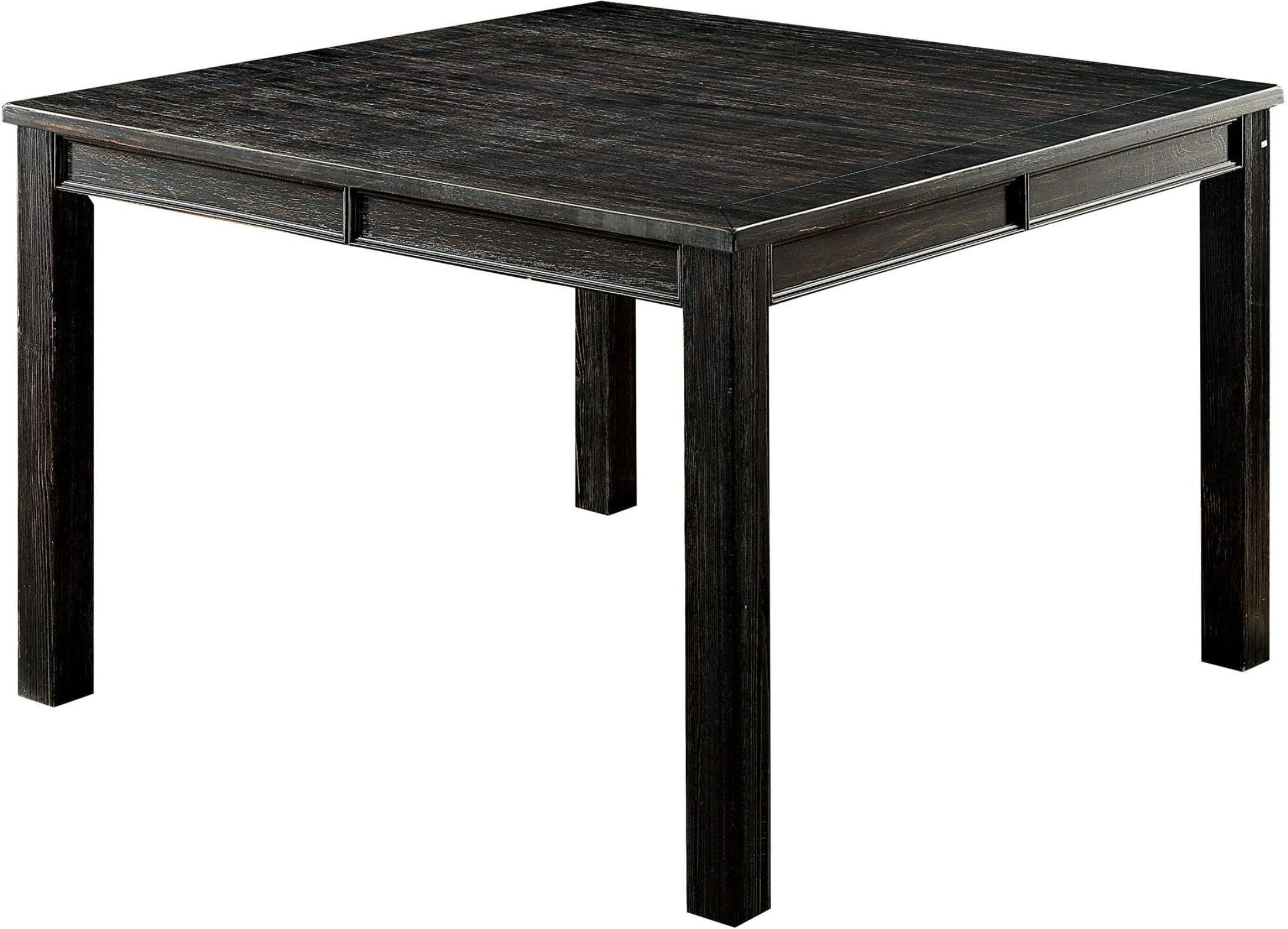 Dining Table Height Cm Sania Iii Antique Black Counter Height Dining Table From