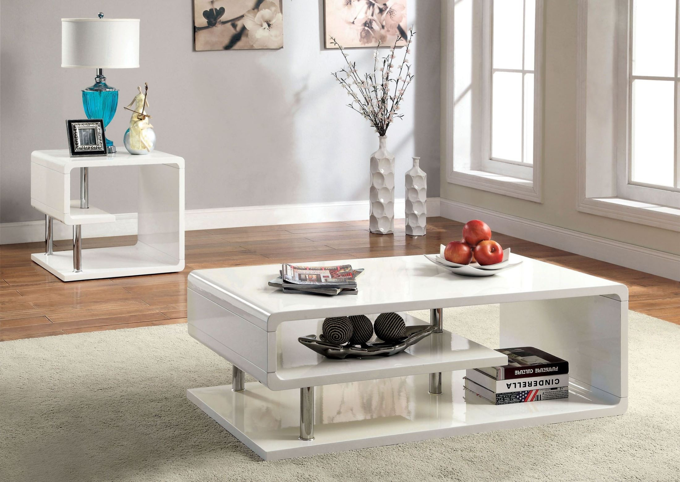 Dekorationen Wohnung Ninove I White High Gloss Coffee Table From Furniture Of