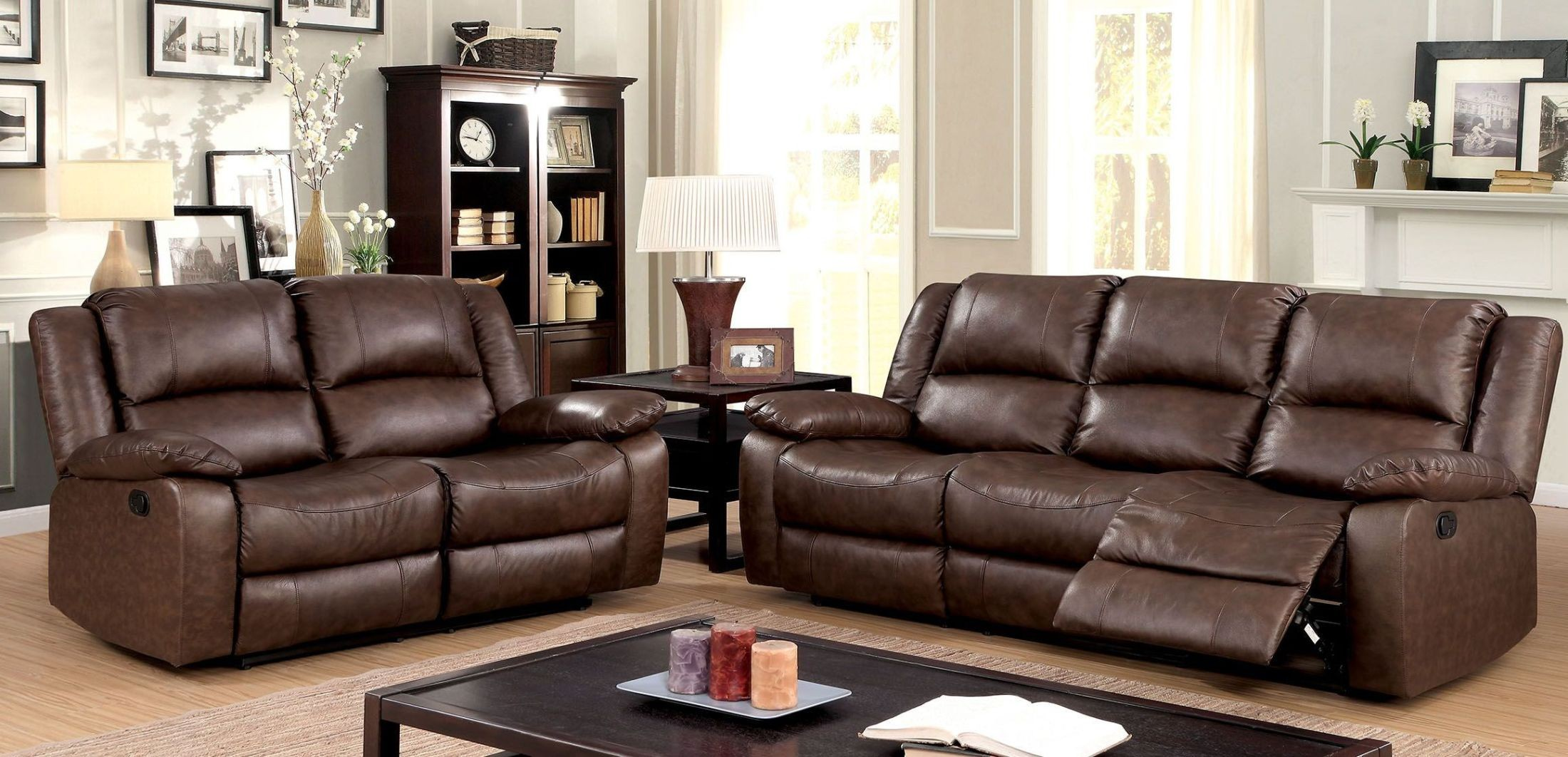 Sofa Set Offer Up Kris Brown Sofa Reclining Living Room Set From Furniture