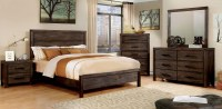 Rexburg Dark Gray Panel Bedroom Set, CM7382Q, Furniture of ...