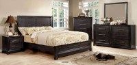 Bradley Dark Gray Bedroom Set, CM7780Q, Furniture of America