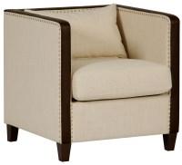 Beige Leisure Accent Chair, DS-A195-900-378, Pulaski