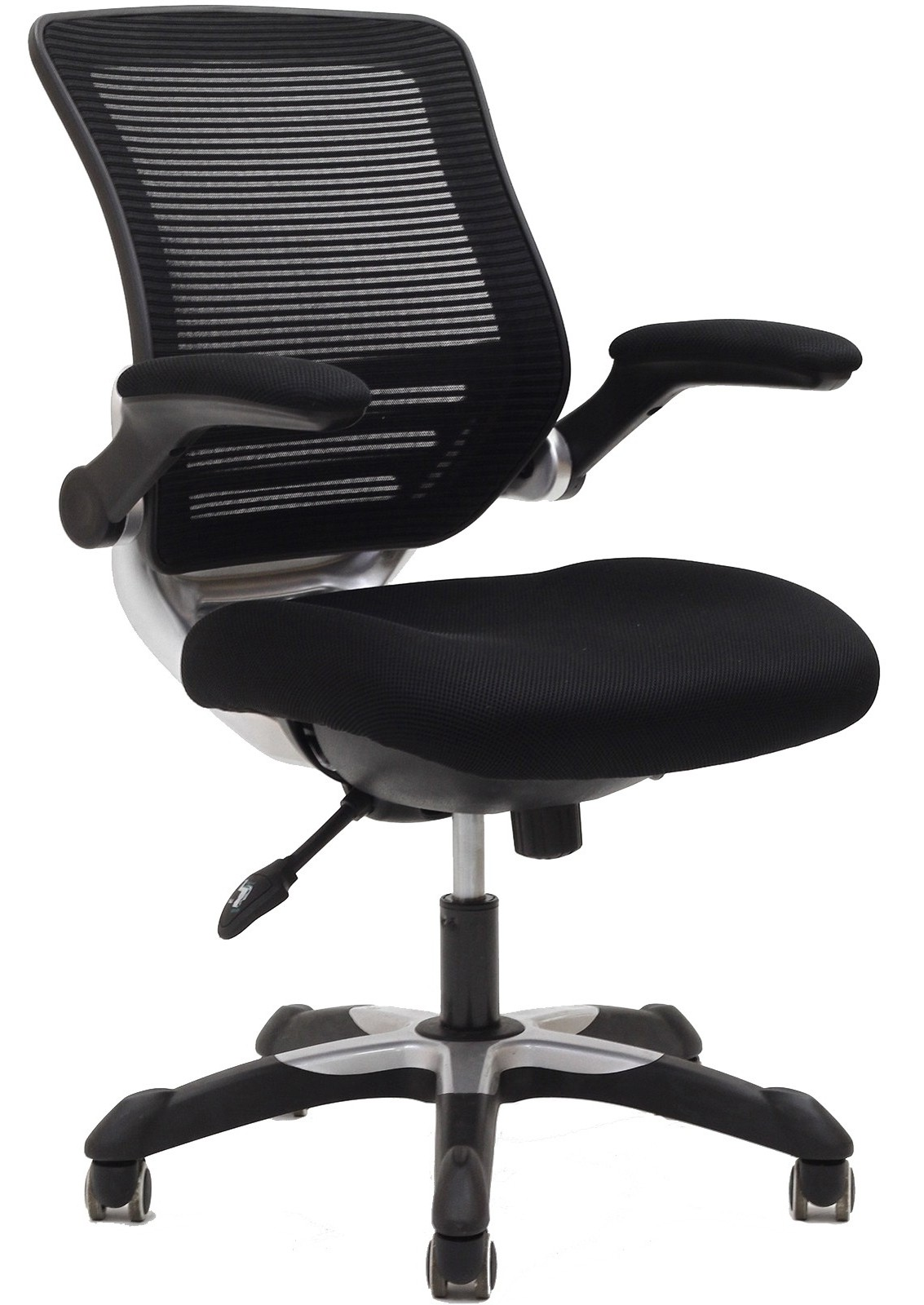 Cloth Covered Office Chairs Edge Office Chair With Black Mesh Fabric Seat From
