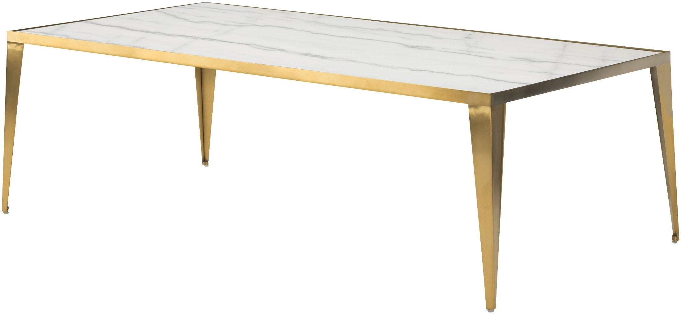White Metal End Table Mink White Stone Coffee Table Hgna138 Nuevo