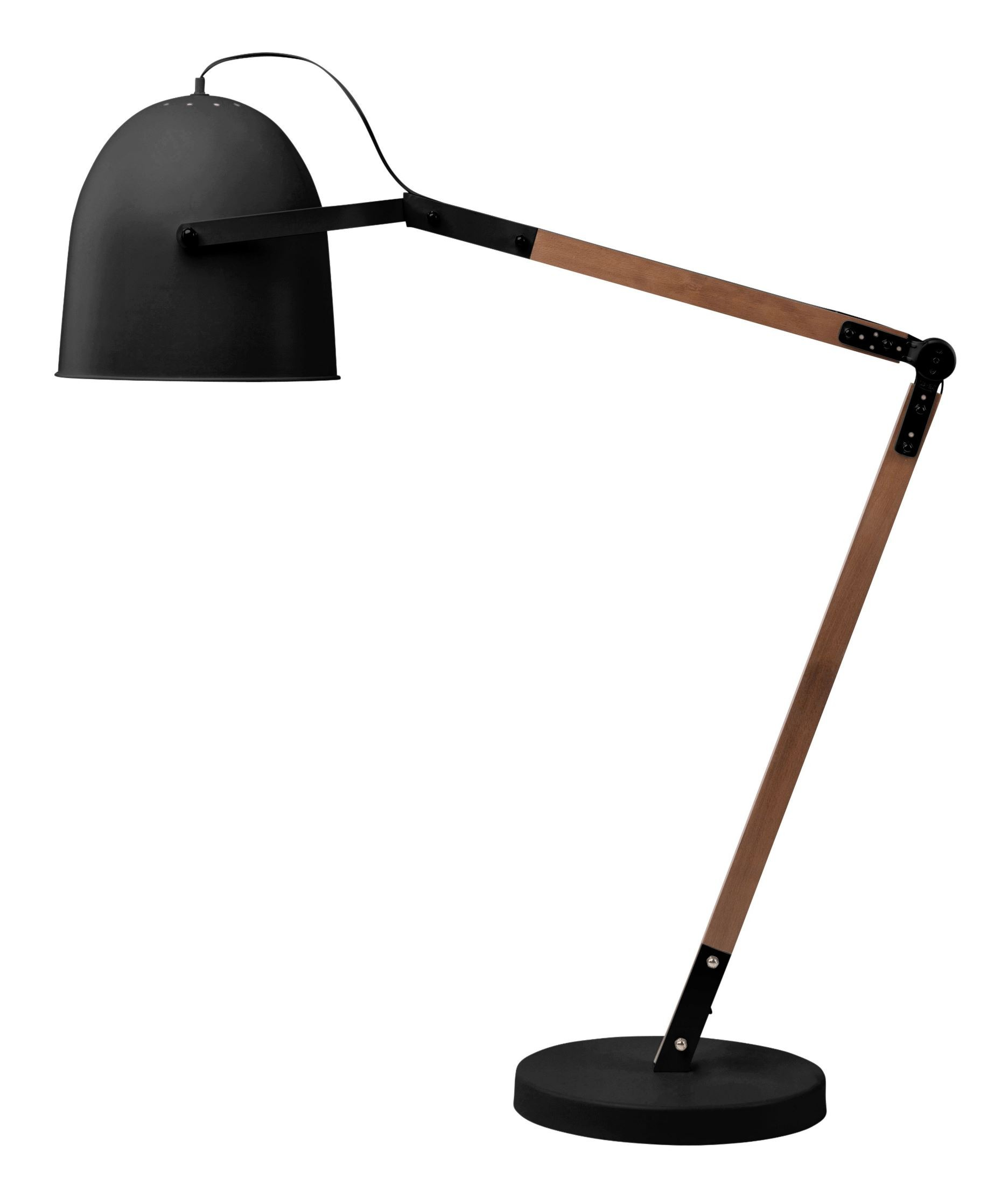 Floor Lamp Metal Winston Black Metal Floor Lamp Hgsk183 Nuevo