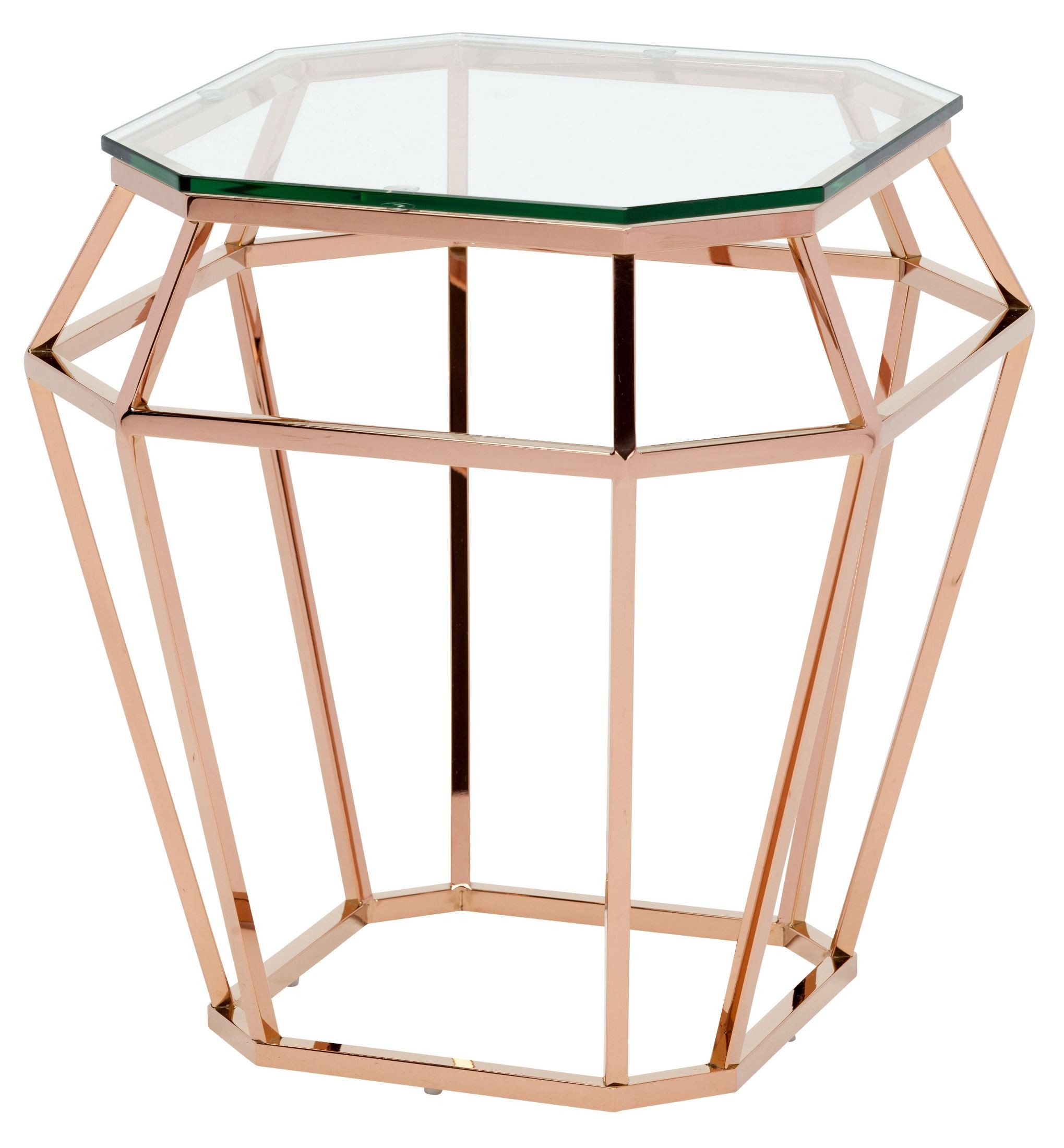 Side Table Glas Diamond Clear Glass Side Table Hgsx179 Nuevo