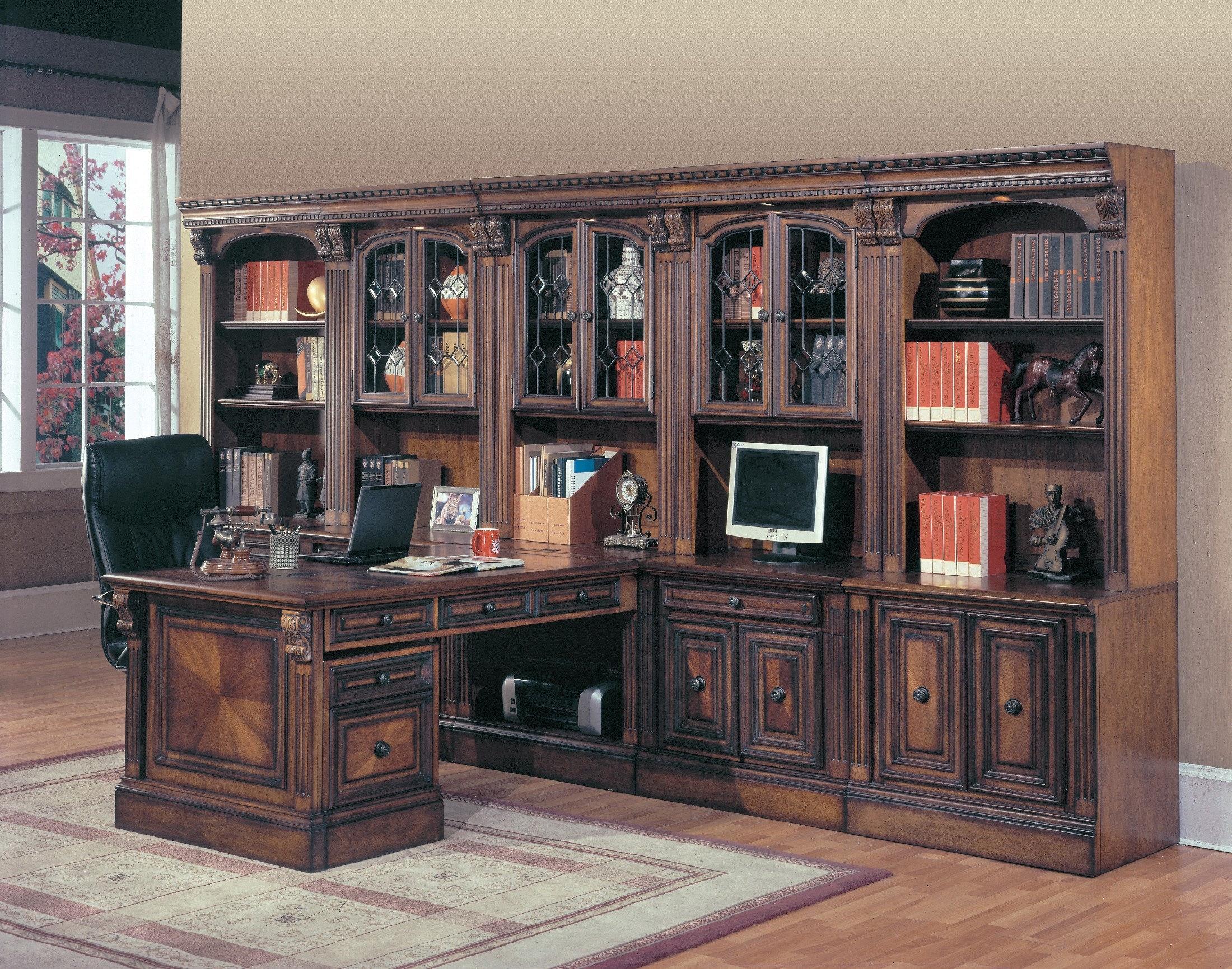 Huntington Home Products Huntington Large Home Office Wall From Parker House