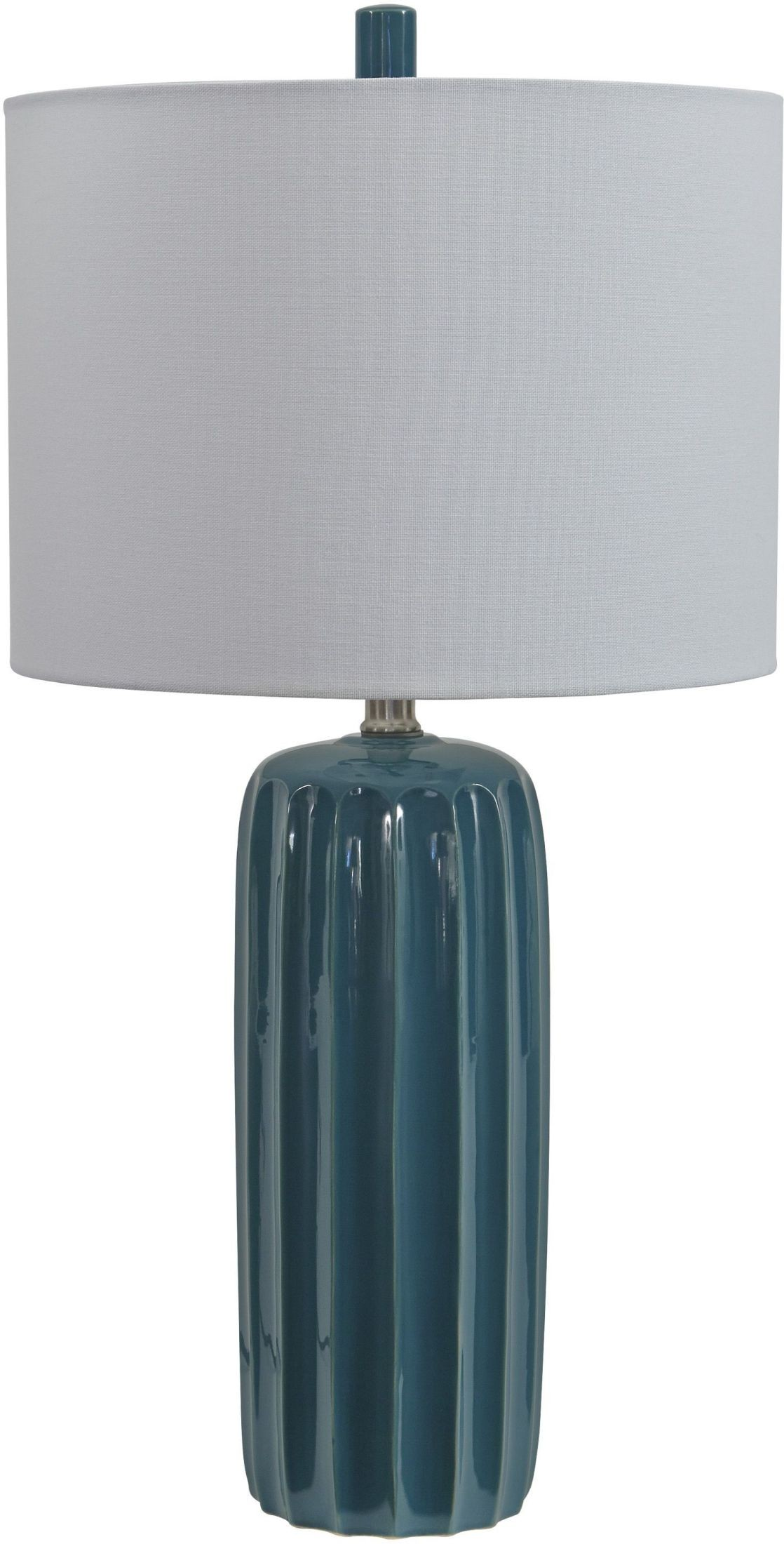 Adorlee Teal Ceramic Table Lamp from Ashley