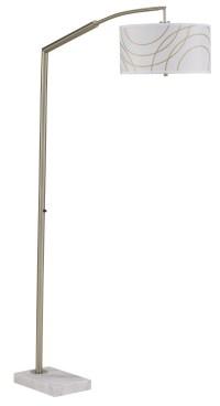 Stevonna Metal Arc Lamp Set of 2, L724669, Ashley Furniture