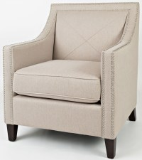Easy Living Luca Taupe Accent Chair from Jofran | Coleman ...