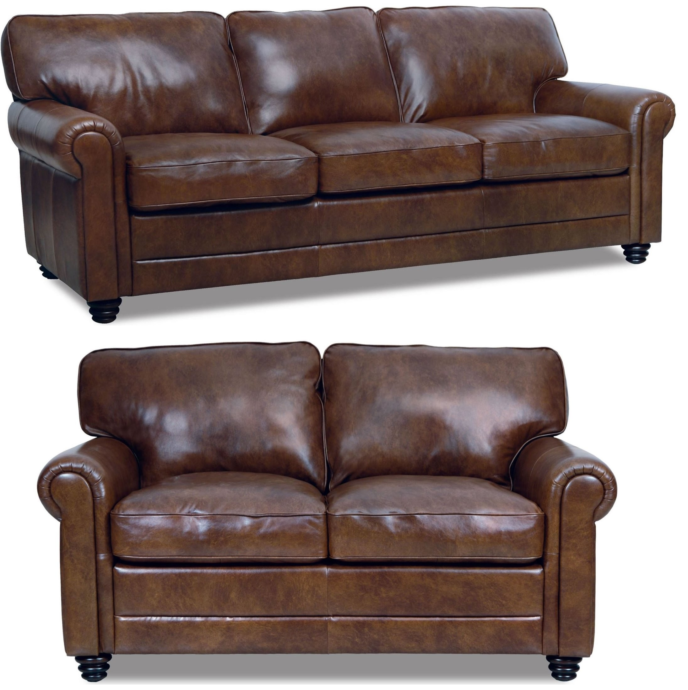 Leather Living Andrew Italian Leather Living Room Set From Luke Leather