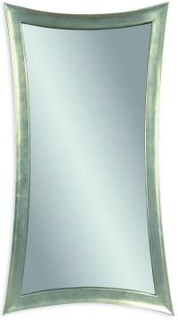 Hour Silver Leaf Glass Wall Mirror, M1762EC, Bassett Mirror