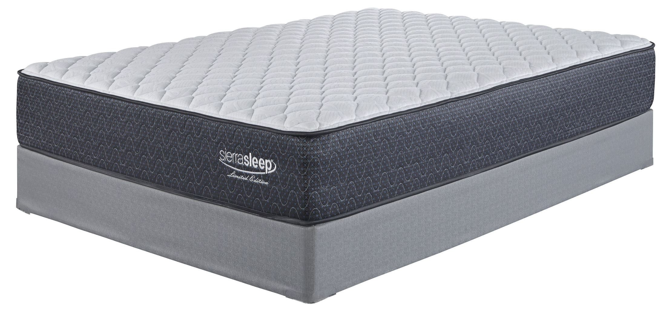 Mattress Foundation White Full Firm Mattress With Foundation From Ashley