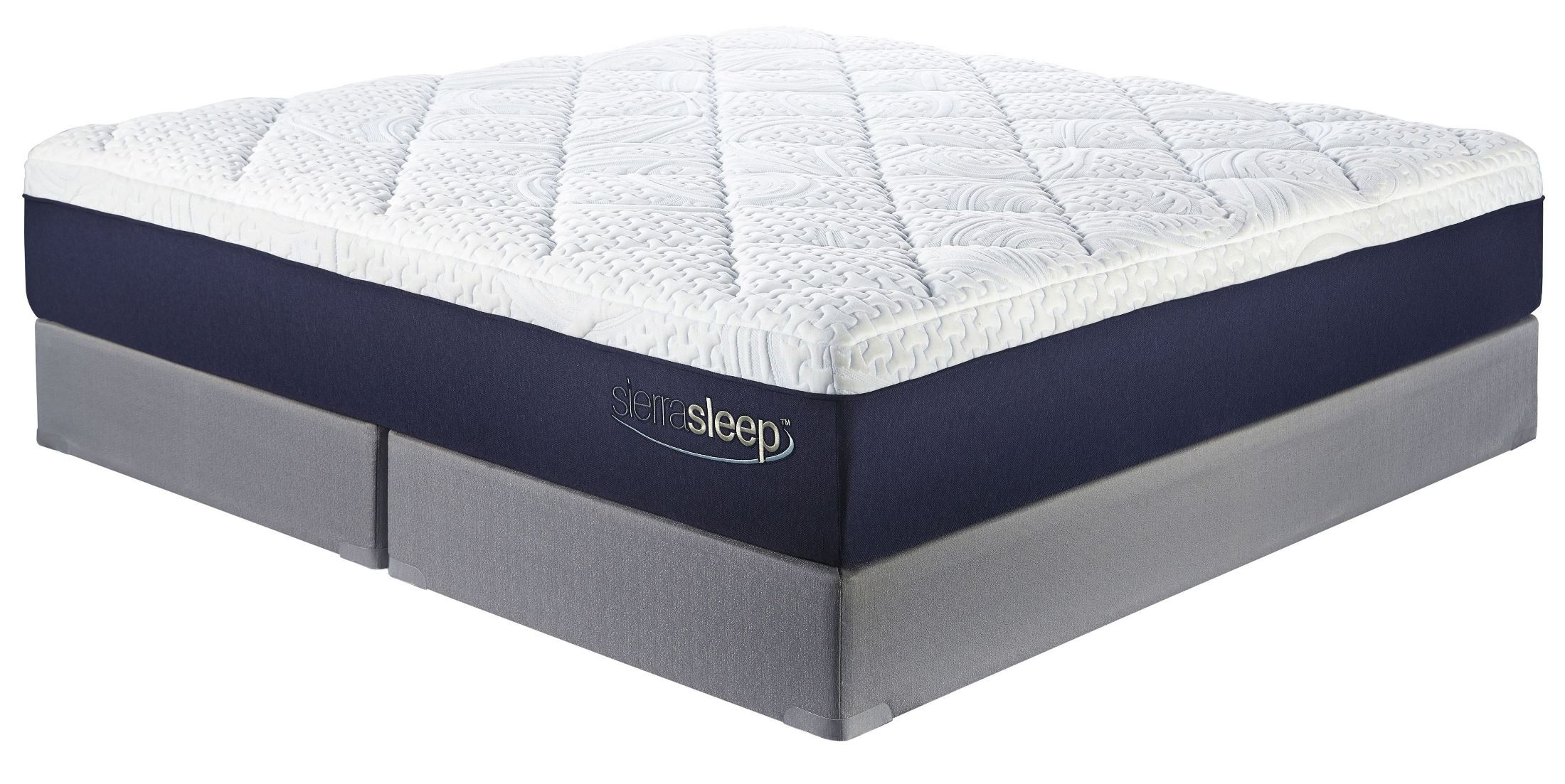 Mattress Foundation 13 Inch Gel Memory Foam White Cal. King Mattress With