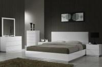 Naples White Lacquer Platform Bedroom Set from J&M (17686 ...