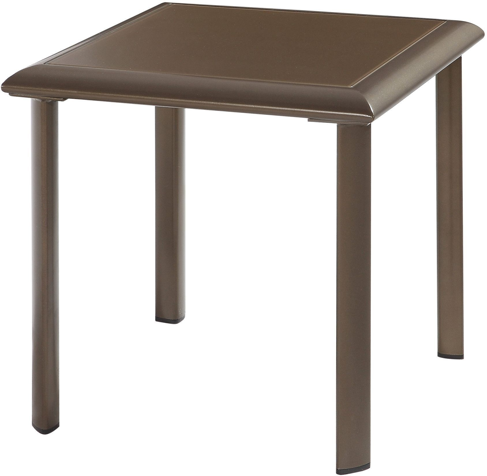 Square Glass End Tables Talon Bronze Square Glass Side Table From Emerald Home