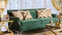 Verdante Emerald Green Sofa, SM2271-SF, Furniture of America
