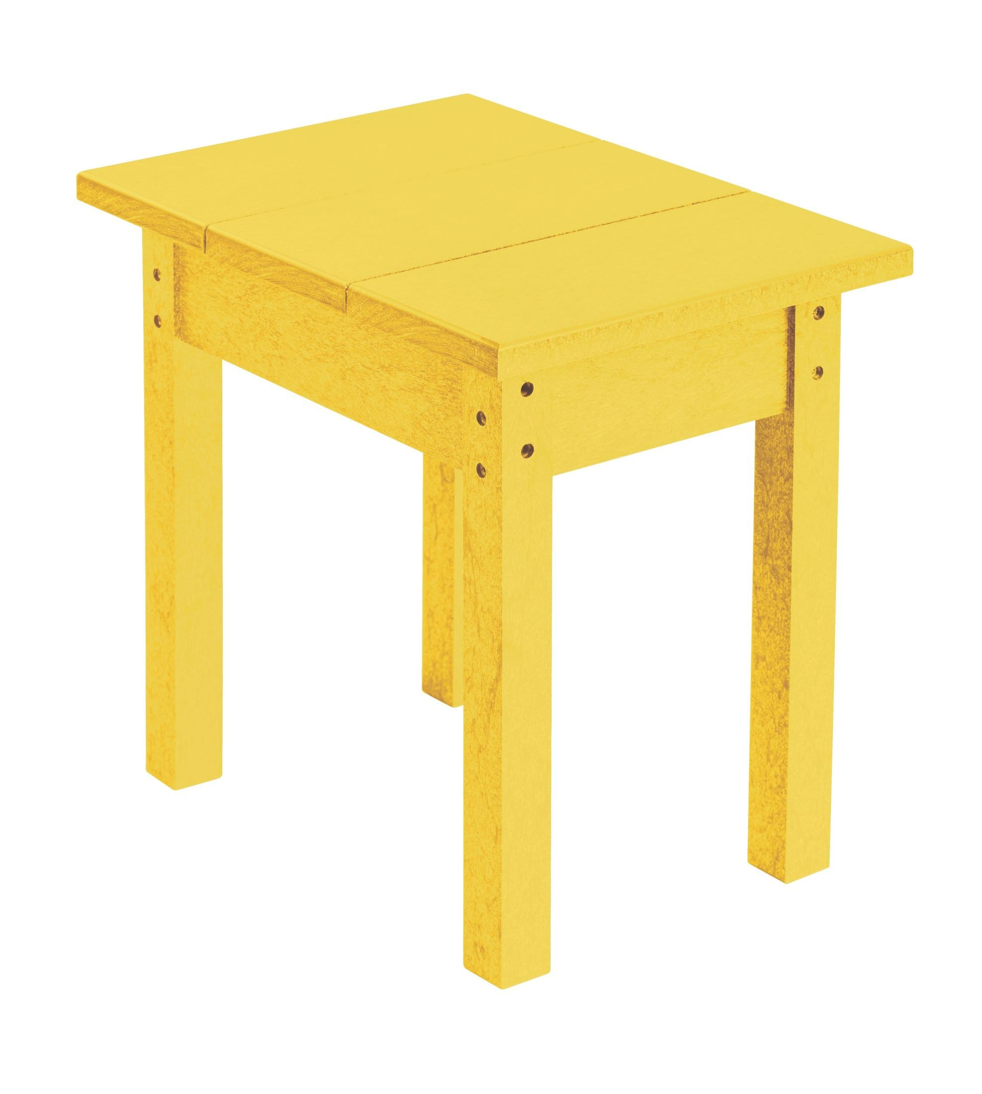 Bijzettafel Geel Generations Yellow Small Side Table From Cr Plastic T01