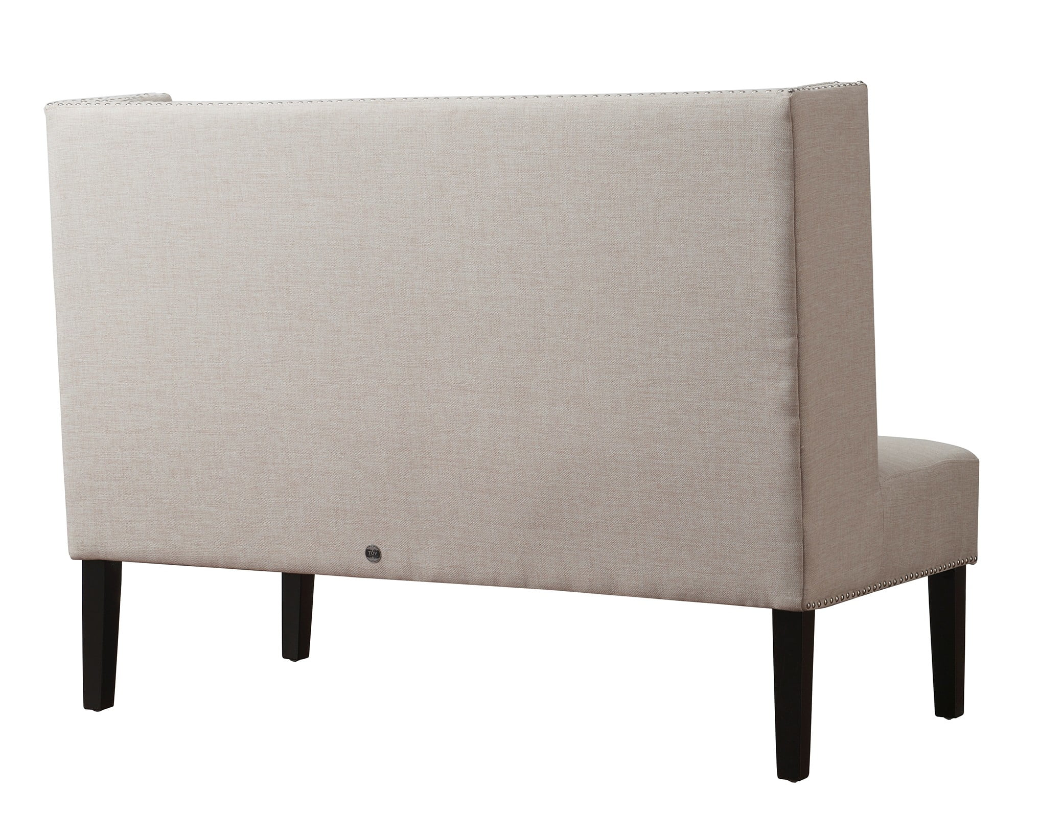 Banquette Beige Halifax Beige Linen Banquette Bench Set Of 2 From Tov (tov