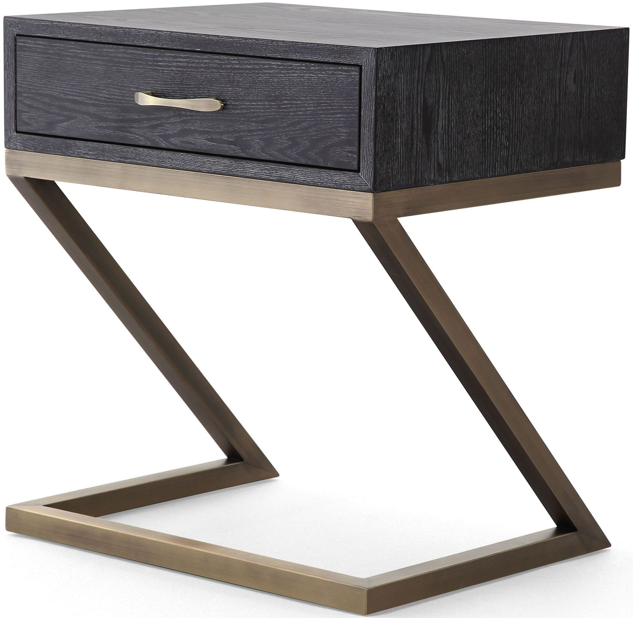 Black Side Table Mason Black Side Table From Tov Furniture L6140